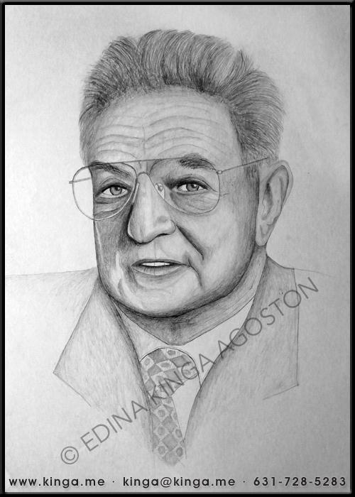 George Soros by Kinga